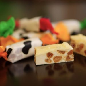 cheese almond nougat