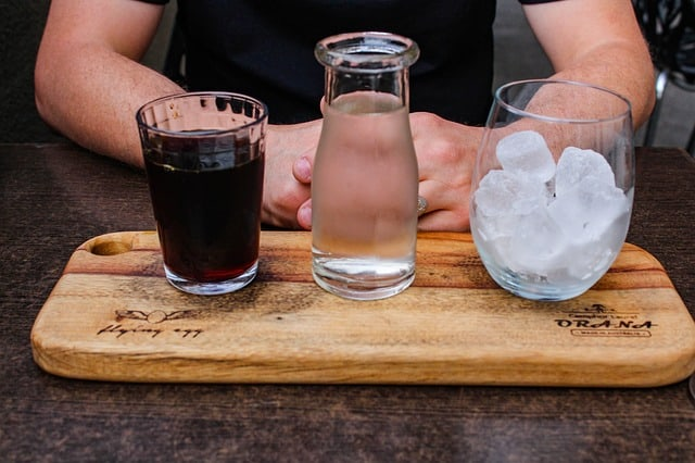 Cold Brew Coffee Ice